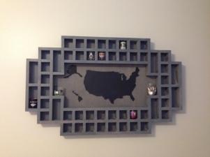USA shot glass holder