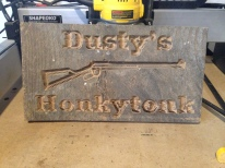 Need a custom display piece for your mancave or home bar? - No problem!