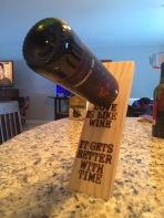 Custom branded wine balancer